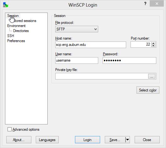 Secure Copy (SCP)