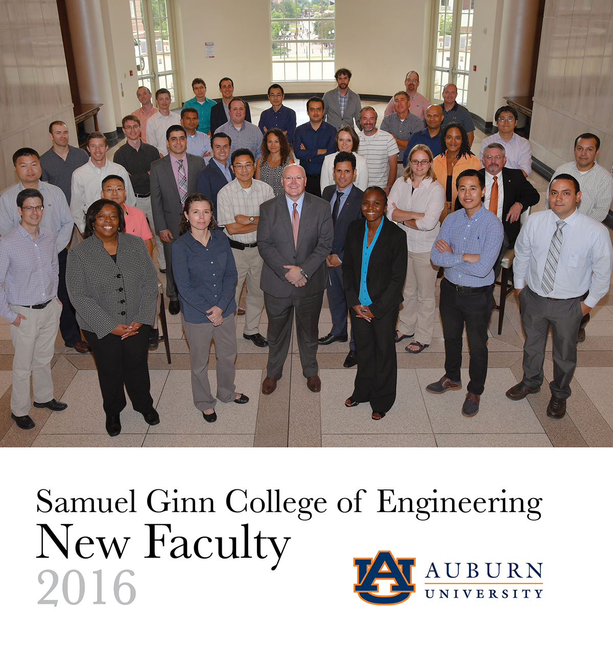Samuel Ginn College of Engineering New Faculty 2016