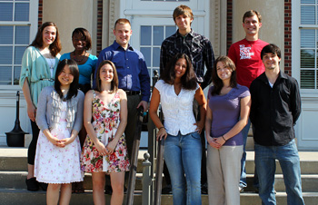2011 REU Fellows