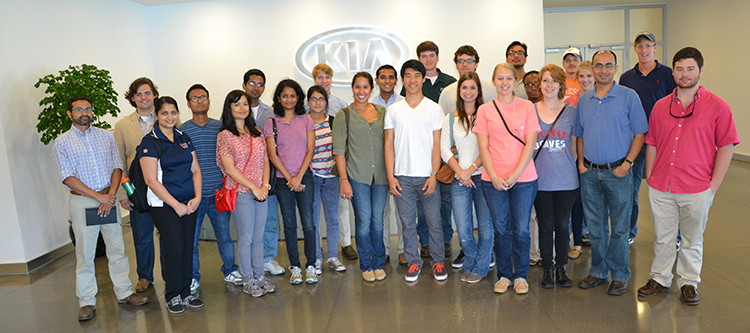 Biosystems Students