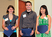Fred and Mary Lou Birdsong Study Abroad Scholarship winners
