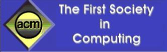 ACM - The First Society in Computing