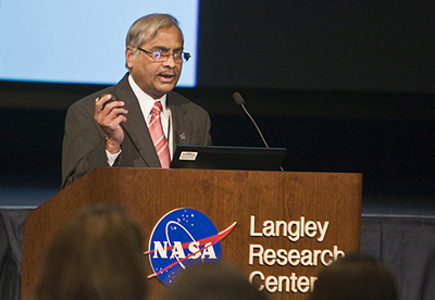 Ivatury S. Raju is a technical fellow for structures at the NASA Engineering and Safety Center.
