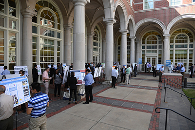 More than 140 graduate students participated in the 2016 Graduate Engineering Research Showcase.