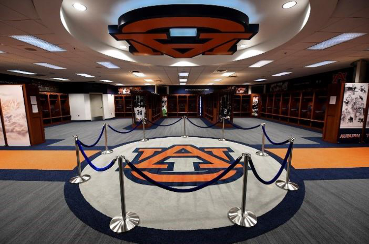 Auburn Football Locker