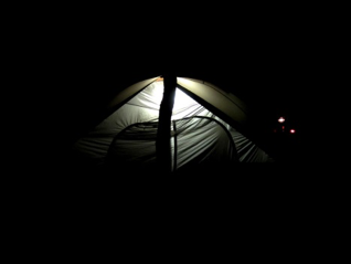 Tent in Darkness