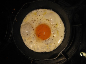 Sunny-side Up Egg in Pan