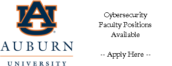Faculty Job in Cyber Security Ad