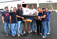 Auburn Engineering's Design/Build/Fly team