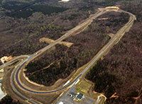 Aerial vew of NCAT Test Track
