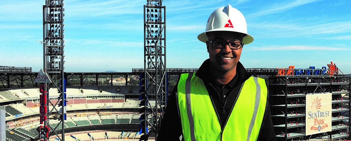 Mshon Pulliam, '12 industrial and systems, is bringing the energy to Atlanta