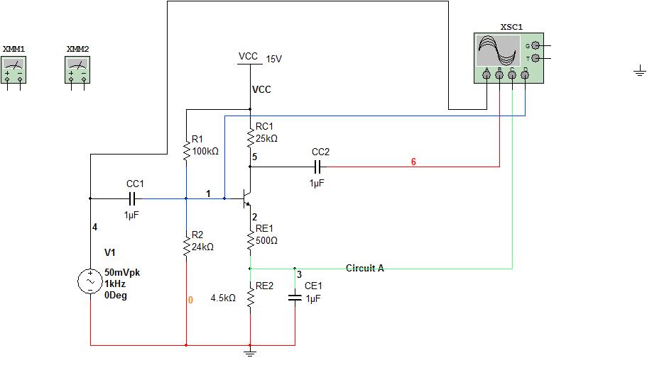 11 Bipolar 4R CE Amplifier elec2210 10 documentation