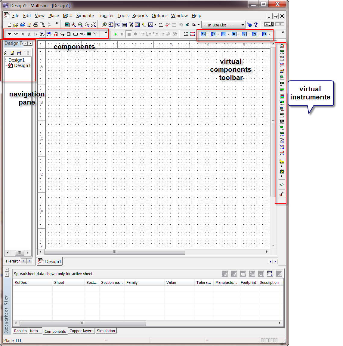 menus 2 multisim tutorial using bipolar transistor circuit circuit  at reclaimingppi.co